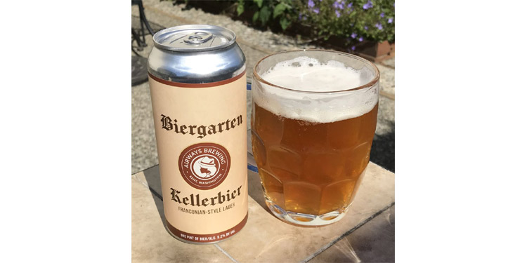 Airways brewing releases this year's Biergarten Kellerbier.