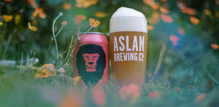 cosmic dreams ipa, aslan brewing