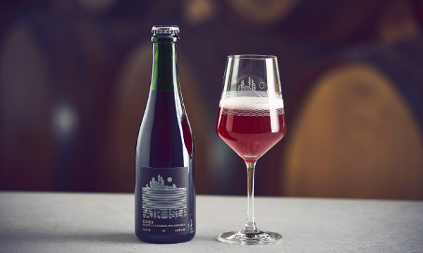 fair isle brewing release a new beer. Eleanor, an oak-aged ale fermented with elderberries