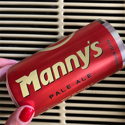 georgetown brewing introduces cans of manny's pale ale.