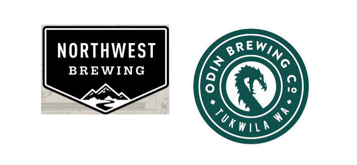 odin bjrewing and northwest brewing logos