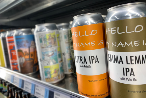 PCC Community Markets introduces Tavern to Go, helping support local brewers.