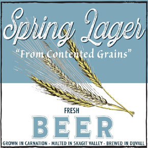 valley house brewing spring lager