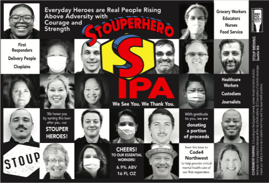 Stoup Brewing - Stouperhero IPA
