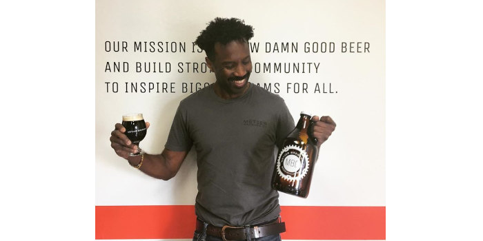Rodney Hines, owner of Metier Brewing.