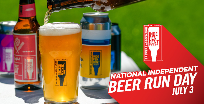 National Independent Beer Run Day - July 3rd.