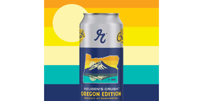 Oregon Crush IPA by Reuben's Brews